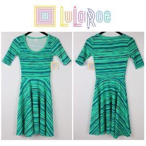 LuLaRoe | NICOLE TIGER STRIPED DRESS